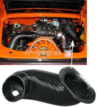 Lufteinlassrohr, Kohlefaser-/Carbon-Look 964